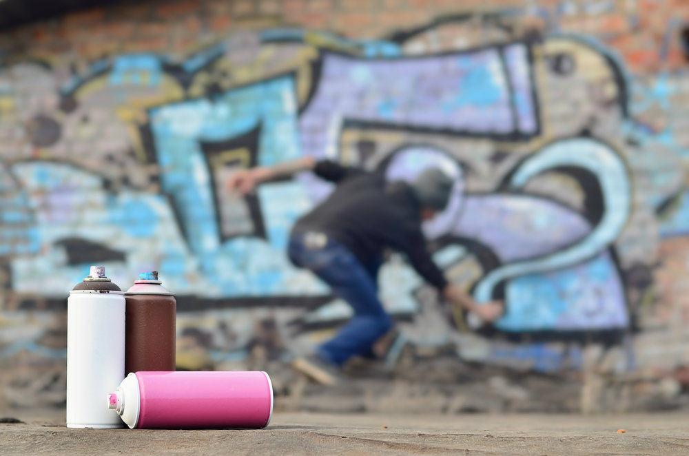 Graffiti Removal and Vapour blasting
